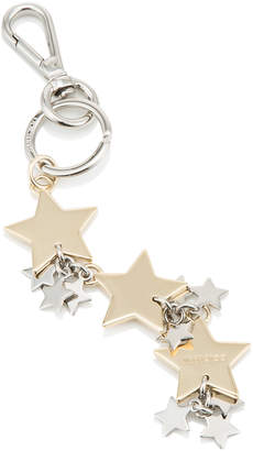 Jimmy Choo SANDIE Gold Metal Key Ring
