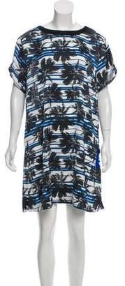 L'Agence Printed Shift Dress