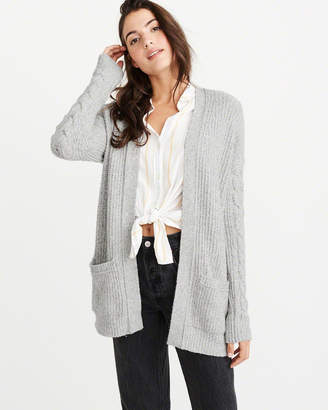 Abercrombie & Fitch Open Stitch Cable Cardigan