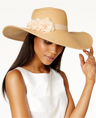 August Hats Fantasy Floral Sun Hat $36 thestylecure.com