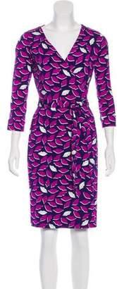 Diane von Furstenberg New Julian Printed Wrap Dress
