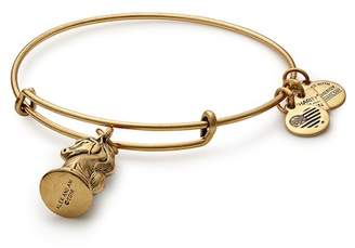 Alex and Ani Knight Charm Expandable Wire Bracelet