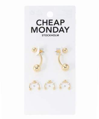 Cheap Monday (チープ マンデー) - JOINT WORKS CHEAPMONDAY pierced patykit