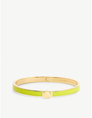 Kate Spade Logo thin enamel bangle