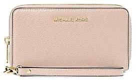 MICHAEL Michael Kors Women's Mercer Large Leather Wristlet