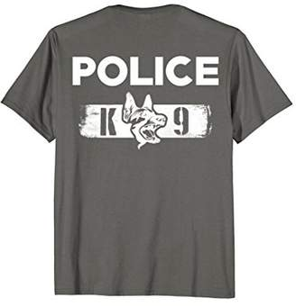 K-9 Police Officer T-Shirt LEO Off Duty Cops Law Enforcement