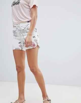 Sofie Schnoor cherry blossom print shorts