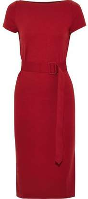 Tomas Maier Belted Jersey Dress