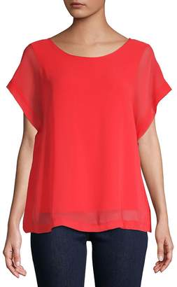 Vince Camuto Women's Extend Shoulder Blouse