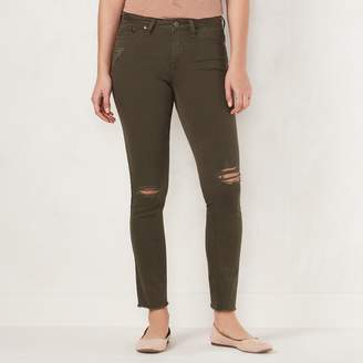 Lauren Conrad Women's Feel Good Midrise Skinny Jeans