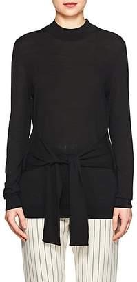 Lulu LES COYOTES DE PARIS Women's Tie-Waist Knit Sweater - Black