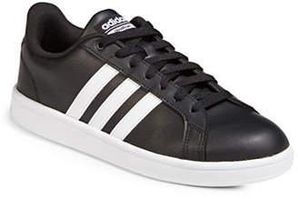 adidas Mens CF Advantage Striped Low Top Sneakers