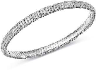 Roberto Demeglio 18K White Gold Diamond Stretch Bracelet