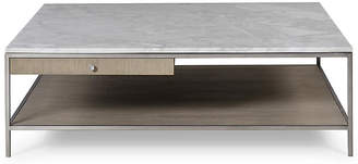 Paxton Square Coffee Table - White/Gray - Maison 55