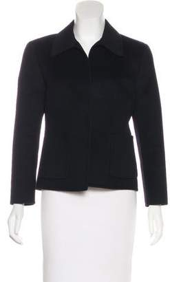 Michael Kors Structured Wool-Blend Coat