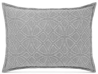 Hotel Collection Connections Square Medallion Standard Cotton Sham