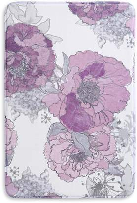 Distinctly Home Floral Memory Foam Rug