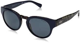 Ralph Lauren Ralph by Women's Acetate Woman Round Sunglasses