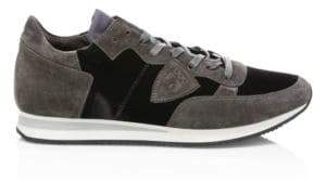 Philippe Model Suede Low-Top Sneakers