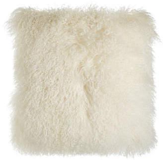"""Parker 6009 Chani Lei Tibetan Lamb Pillow, 22""""Sq."""