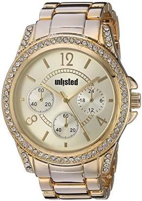 Unlisted Watches Women's 'Dress Sport' Quartz Metal and Alloy Casual Watch