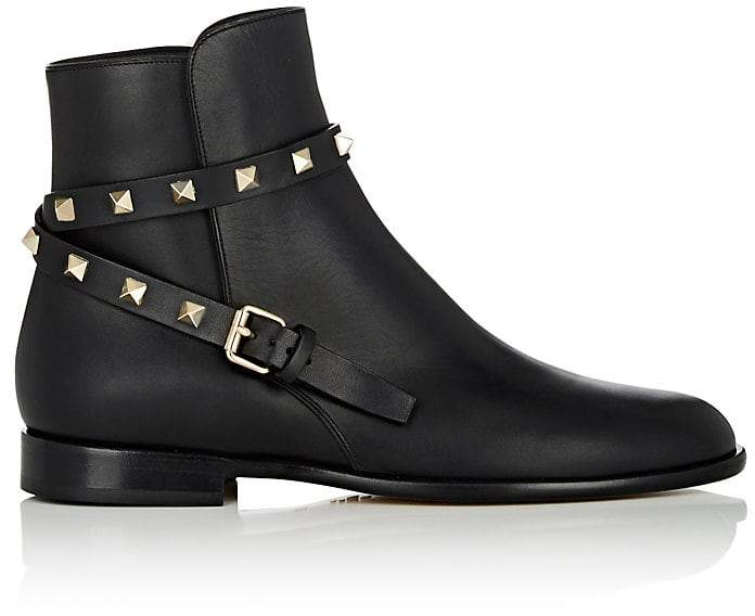 Valentino Garavani Women's Rockstud Ankle Boots