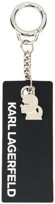 Karl Lagerfeld Karl's Essential tag keyring