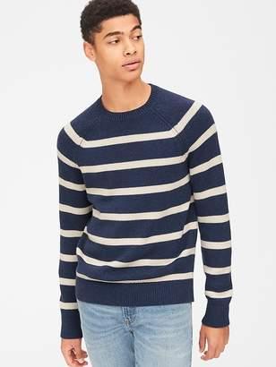Gap Textured Crewneck Pullover Sweater