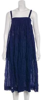 Atelier Horses Sleeveless Pinstripe Dress w/ Tags
