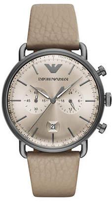 Emporio Armani Aviator Chronograph Mens Dress Watch