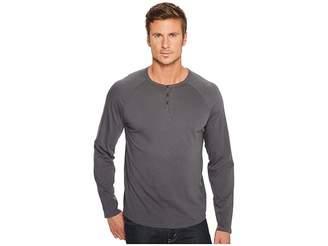 Alternative Organic Cotton Quad Henley Men's Clothing