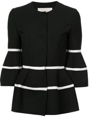 Carolina Herrera three-quarter sleeve jacket