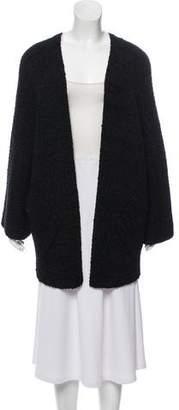 Chanel Silk Open Front Cardigan