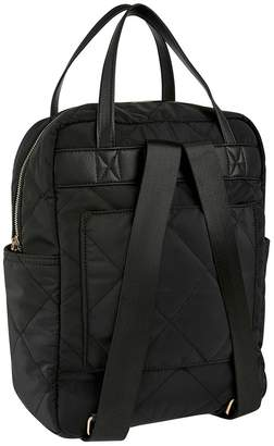 Accessorize Womens Black Emmy Quilted Backpack - Black