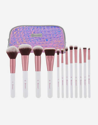 Bh Cosmetics 12 Piece Crystal Quartz Brush Set