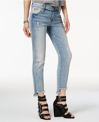 STS Blue Taylor Tomboy Ripped Step-Hem Jeans $54 thestylecure.com
