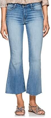 L'Agence Women's Sophia Crop Flared Jeans