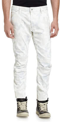G Star G-Star 5622 3D Relaxed Slim Jeans, Scatter White Camo