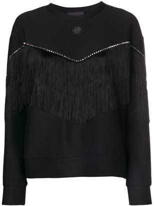 Philipp Plein tassel embellished sweatshirt
