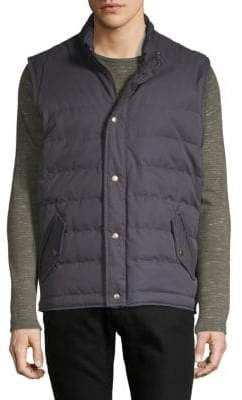 Quilted Goose Down Vest