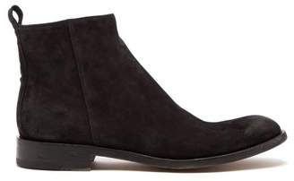 O'Keeffe Okeeffe - Algy Suede Chelsea Boots - Mens - Black