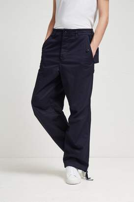 French Connection Military Broken Twill Drawstring Trousers