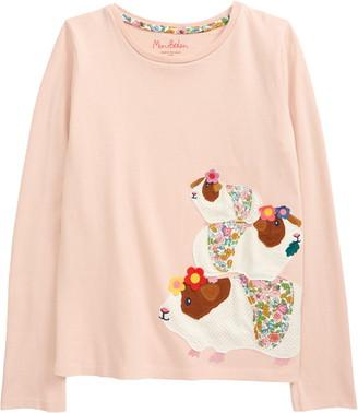Boden Kids' Applique T-Shirt