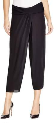 Elie Tahari Womens Sheer Pull On Harem Pants M