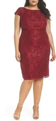 Morgan & Co. Lace Party Dress
