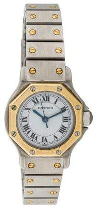 Cartier Santos Octagon Watch