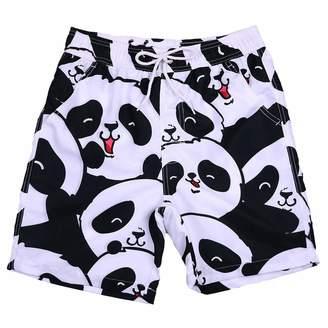 Trunks FANOUD Men's Shorts Swim Trunks, Quick Dry, Beach Surfing Running Panda Pants