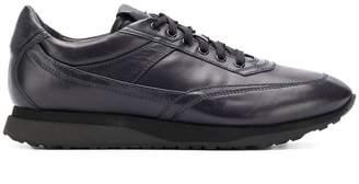 Santoni lace-up sneakers