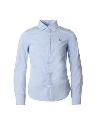 Polo Ralph Lauren Childrenswear Long Sleeved Logo Shirt