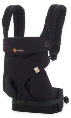 ErgobabyTM Four-Position 360 Baby Carrier in Pure Black $159.99 thestylecure.com